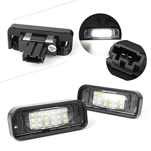 - Nathan-Ng - For Mercedes Benz S-Class W220 S320 S420 S430 Car LED license Number Plate Light Lamp Indicator Accessories OEM Replacement CE
