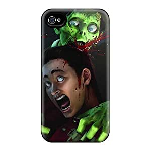 High Grade Phone Case Flexible Tpu Case For Iphone 4/4s - Games Stubbs The Zombie by mcsharks