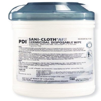 MCK72134100 - Professional Disposables Surface Disinfectant Cleaner Sani-Cloth AF3 Wipe Manual Disposable
