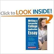 Writing a successful college application essay by george ehrenhaft