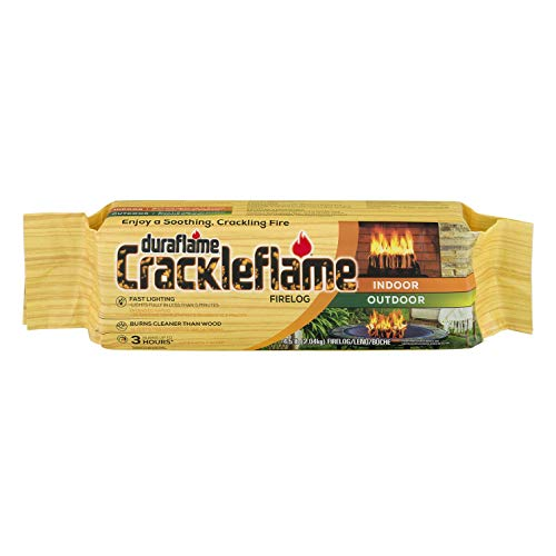 duraflame Crackleflame 4.5lb 3-hr Indoor/Outdoor Firelog,