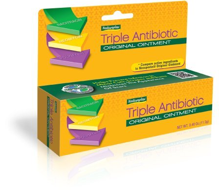 Natureplex Triple Antibiotic Original Ointment 0.33 Ounce Tube (3 Pack)