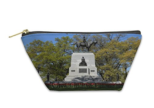 - Gear New Accessory Zipper Pouch, William Tecumseh Sherman Monument In Washington D C, Small, 5581228GN