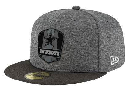 2056294c Amazon.com : Dallas Cowboys New Era Fashion Sideline Road 59Fifty ...