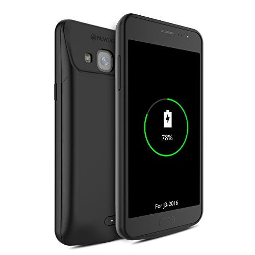 Cheap Charger Cases Samsung Galaxy J3 2016 Battery Case, Newdery Extended Power 4000mAh Charger Case,..