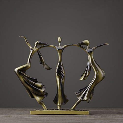 Sculpture Statue Figurines,Abstract Art Bronze Dancer for sale  Delivered anywhere in Canada