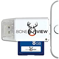 BoneView SD MicroSD Card Reader for Apple iOS, Trail Cam...