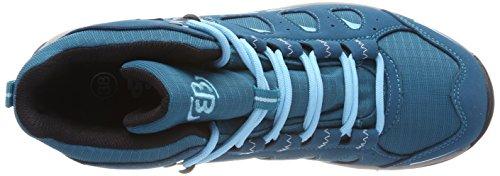 Mount Rise Petrol Petrol Mujer para Azul de Bruetting Senderismo Frakes High Blau Zapatos Blau Rdvqx14w