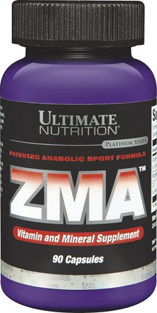 Ultimate Nutrition ZMA Vitamin & Mineral Supplement (90 - Nutrition Capsules 90 Zma