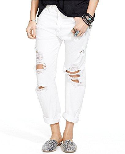Denim Supply Ralph Lauren Boyfriend Jeans (28, White)
