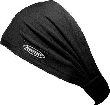 Schampa Black Mini Dooz's Headband,