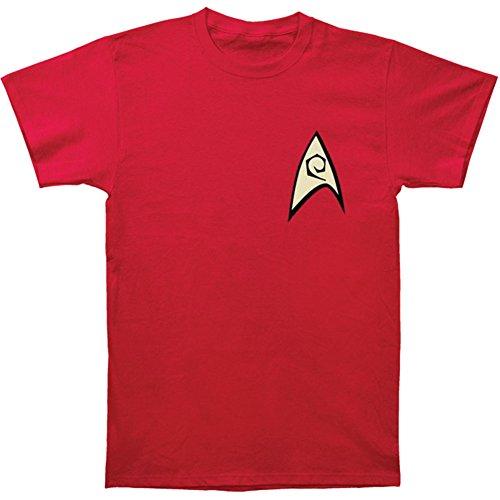 [Star Trek - Engineering Uniform T-Shirt Size XXXL] (Star Trek Uniform Shirts)
