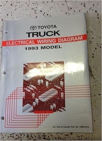 1993 toyota truck wiring diagram