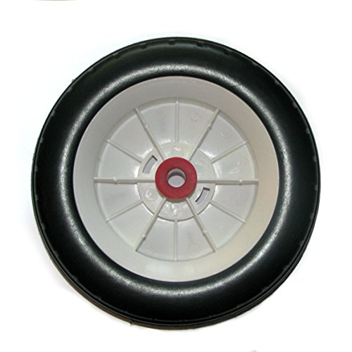 Radio Flyer Replacement PLASTIC Rear Wheel/Tire - for TRICYCLE / BIKE Only
