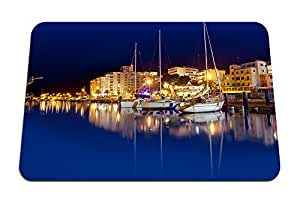 """Harbor night- Mouse Pad - Gaming Mouse Pad - 8.6""""x7.1"""" inches"""