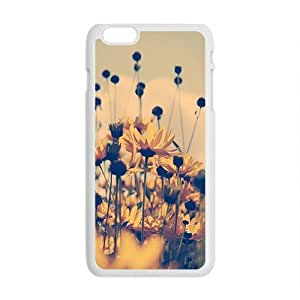 Wild Flowers Field personalized creative custom protective phone case for Iphone 6 Plus by runtopwellby Maris's Diary