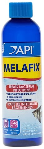 API MELAFIX Freshwater Fish Bacterial Infection Remedy 4-Oun