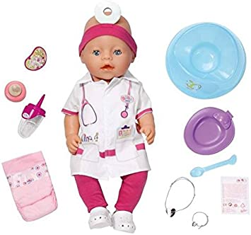 Baby Born Doctor Interactive Doll Amazon Co Uk Toys Games