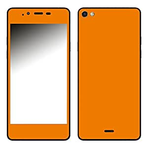 "Motivos Disagu Design Skin para Wiko Highway Pure: ""Orange"""