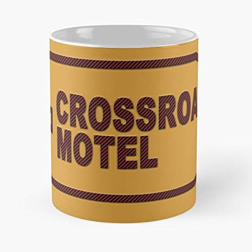 Crossroads Motel Meg Mortimer Noele Gordon Soap Opera - Coffee Mugs Unique Ceramic Novelty Cup For Holiday Days 11 Oz.