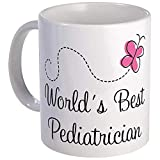 Pediatrician (Worlds Best) Mug - Ceramic 11oz Coffee/Tea Cup Gift Stocking Stuffer
