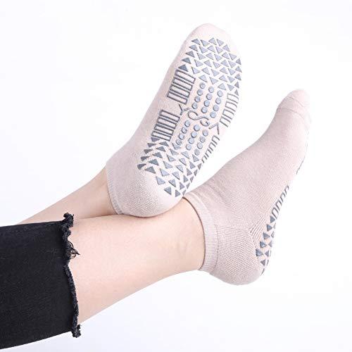 Yoga Socks for Women with Grips, Non Skid Grip Socks for Yoga, Pilates, Barre, Home & Hospital