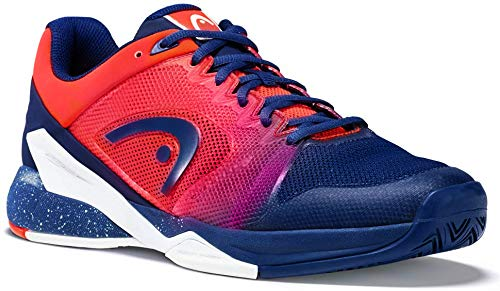 Head Men's Revolt Pro 2.5 Tennis Shoes (Blue/Flame Orange) (11 D(M) US)