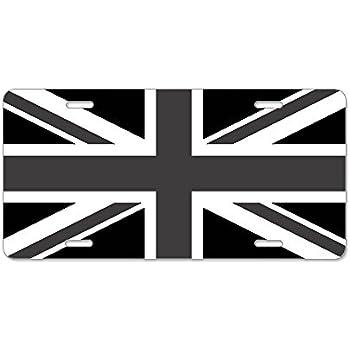Amazon.com: Dixie Great Britain Flag License Plate (Union