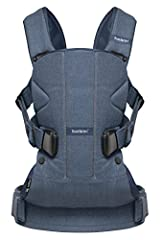 Baby Carrier One is ideal for those wanting an ergonomic baby carrier with incomparable comfort. A must for those who want to vary the way of carrying for long periods. Baby Carrier One is equipped with a sturdy waist belt and padded, form-fi...