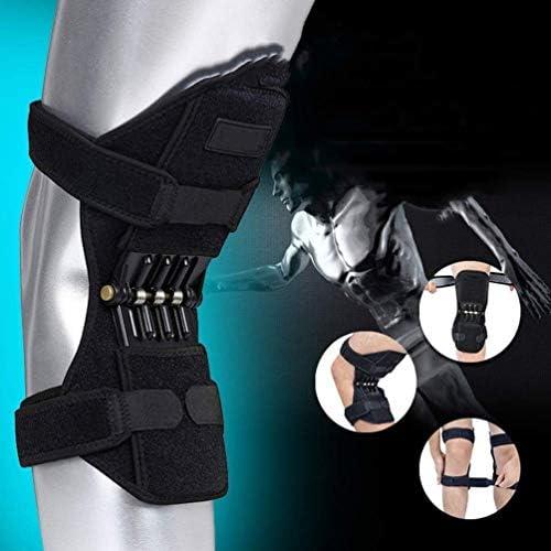 膝保護ブースター、春膝パッド通気性膝ブースターパワーリフト膝保護ブースター膝蓋骨スタビライザープロテクター関節痛救済登山ディープケア