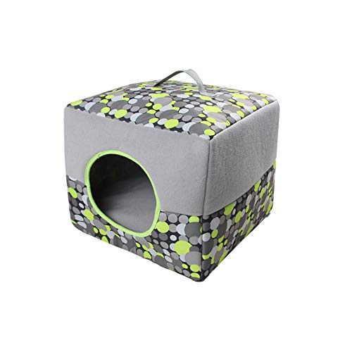 C_-1X Cross-Border Four Seasons Dual-use cat Litter Kennel Foldable Retractable Breathable pet Cushion