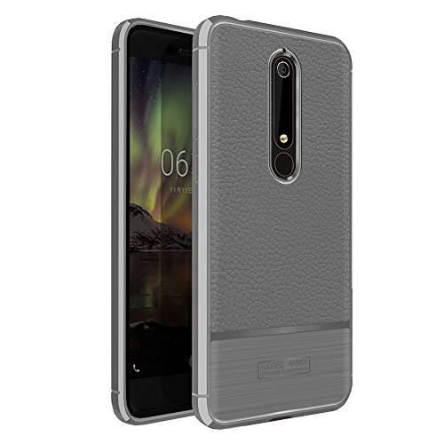 Nokia 6 2018 Case, Vinve [Slim Thin] TPU Shock...