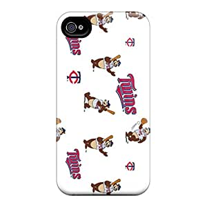 KellyLast Iphone 6plus Shock-Absorbing Hard Phone Cover Customized Vivid Minnesota Twins Series [ysm15137IMZS]