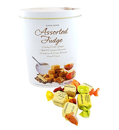 Gardiners of  Scotland Assorted Fudge Tin, 10.7-Ounce