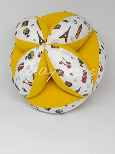 Pelota Montessori Lugares Amarilla: Amazon.es: Handmade