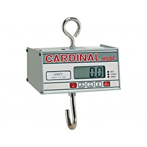 Detecto HSDC-20 - 20 LB Digital Hanging Scale - Legal for Trade