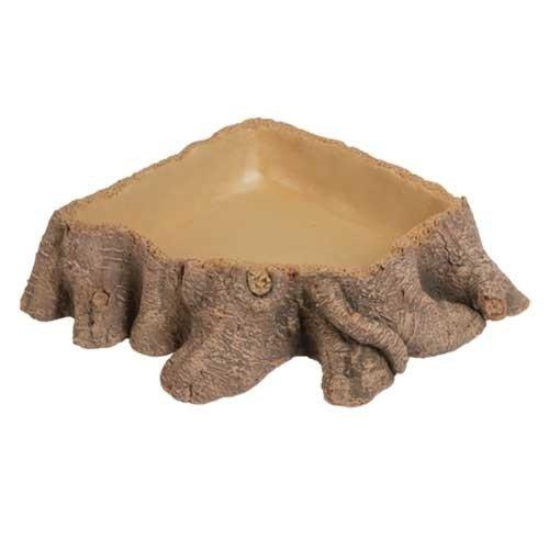Abreuvoir stump 3, 26 x 26 x 6 cm Dohse Aquaristik