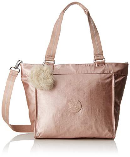 - Kipling New Shopper S, Women's Tote, Gold (Metallic Blush), 13x42x27 cm (B x H T)