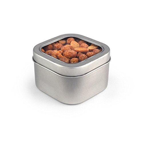 Peanuts, Honey Roasted, Square Window Medium Tin 48ct/5.1oz