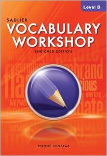 level h vocab workshop answers