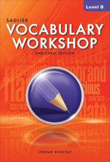Vocabulary Workshop Level B (Kid Friendly Horses For Sale In Texas)