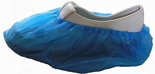 Disposable Shoe & Working Boot Covers (100 per Pack, 50 pairs) Universal Size, Polypropylene, Healthcare and Medical offices, Indoor Carpet Floor Protection, by P&P (5000 per case) by P&P Medical Surgical (Image #5)