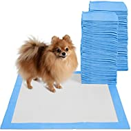 "Puppy Pads Dog Pee Pad for Potty Training Dogs & Cats 22 x 22""- 100-Count Large"