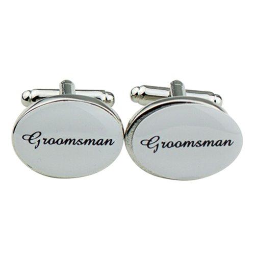 mens-silver-color-plastic-oval-wedding-cufflinks-cuff-link-groomsman