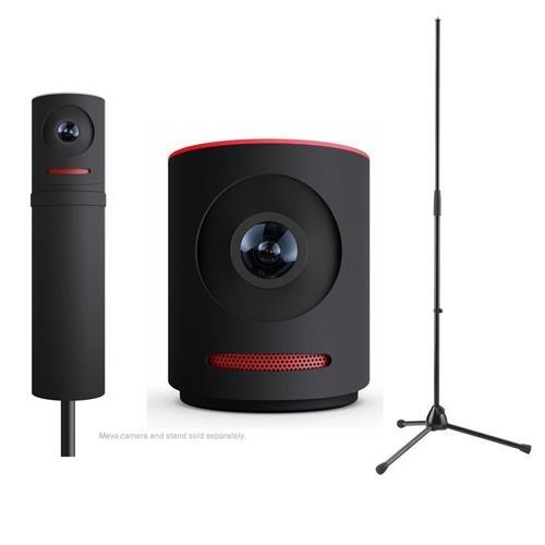 Mevo Live Event Camera by Livestream, Black - Bundle With Mevo Boost by Livestream , K&M 20170-500-55 Microphone Stand, Action Cameras Mevo