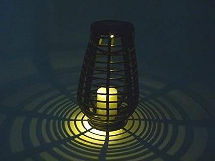 LED Balkon Terrassen Garten Beleuchtung Solar Leuchten schwarze Aussen Lampen