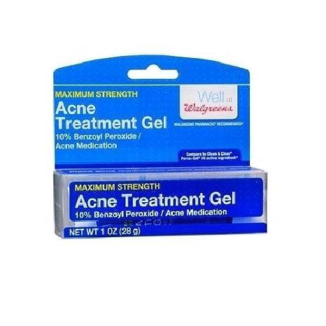 Amazon Com Walgreens Acne Treatment Gel 1 Oz Beauty