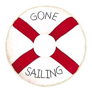 41zEALm4TiL._SS300_ 100+ Nautical Pillows & Nautical Pillow Covers