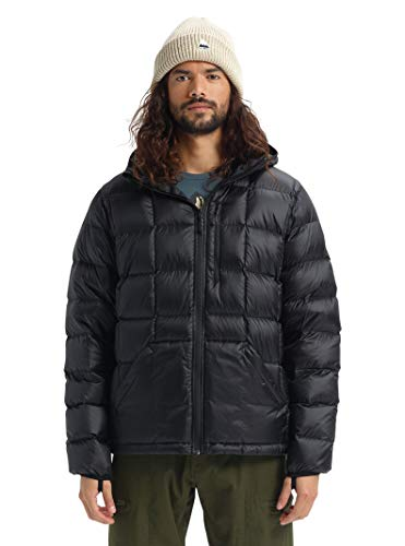 Burton Men's Evergreen Hooded Down Insulator, True Black W20, X-Small