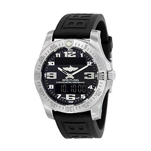 Breitling Aerospace EVO Black Dial Quartz Mens Watch E7936310-BC27BKPT3